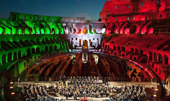 Roma: il Colosseo torna a risplendere con i BMFL WashBeam di ROBE
