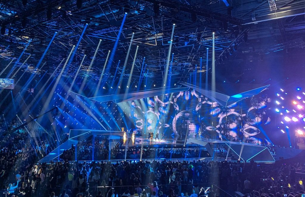 Eurovision 2019 risplende con ROBE lighting
