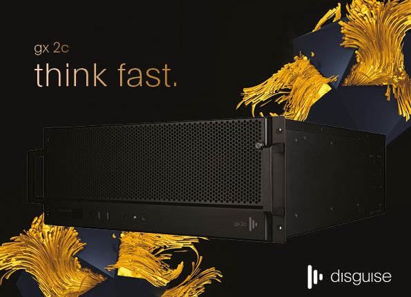 disguise presenta il server gx 2c