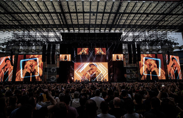 Vasco NonStopLive 2019: potenza e innovazione con disguise
