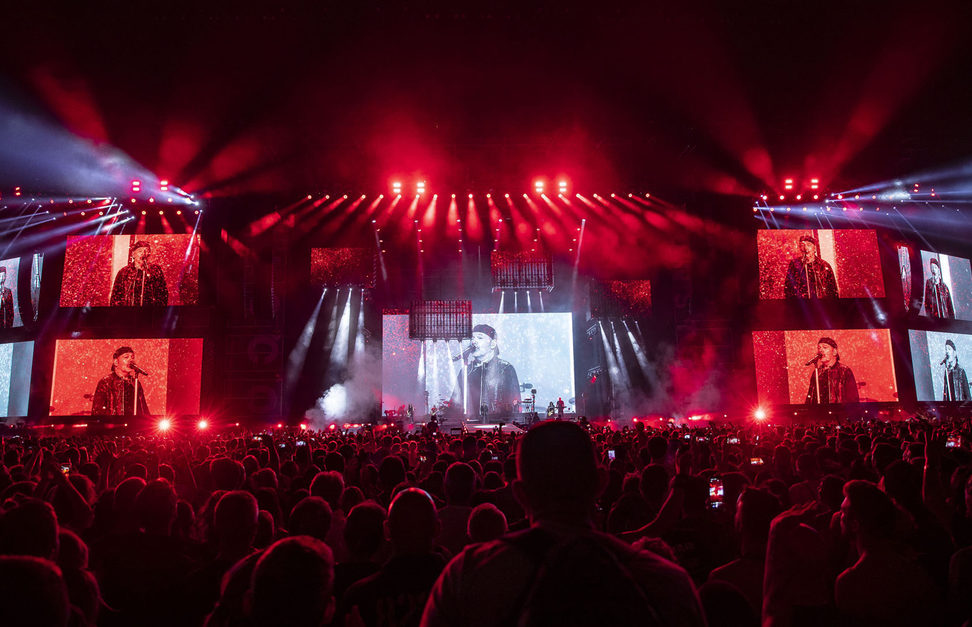ROBE lighting e Robert Juliat per Vasco NonStopLive 2019