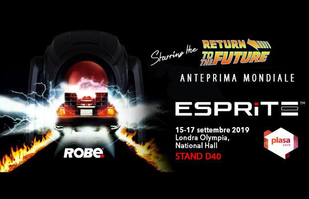 ROBE lighting presenta i nuovi Esprite e Tetraal Plasa 2019