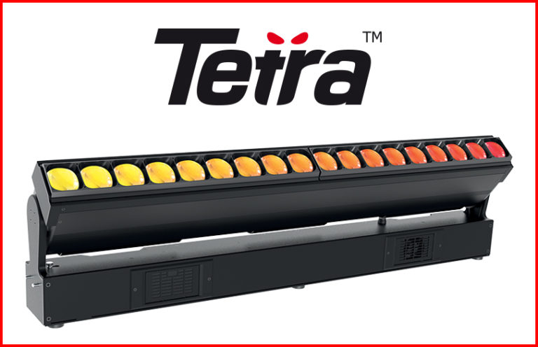 ROBE Tetra: una nuova era di barre a LED