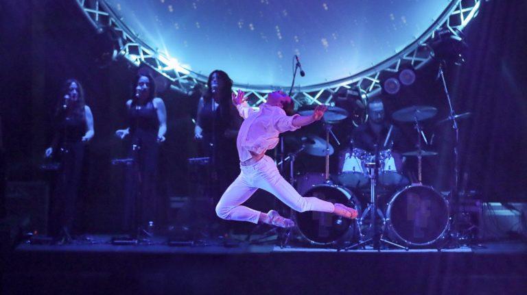 SHINE Pink Floyd Moon risplende con ROBE