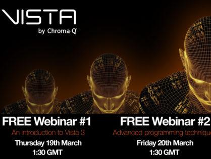 Webinar gratuiti Vista livello base e avanzato: 19 e 20 marzo 2020