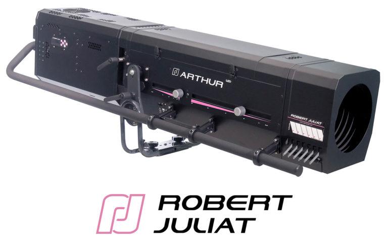 "Robert Juliat presenta Arthur 800W: lunga vita al ""re"" dei seguipersona a LED"
