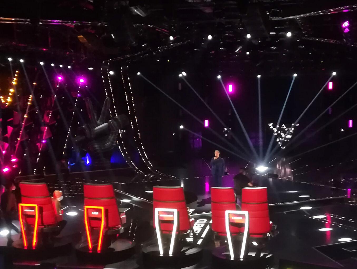 The Voice Senior 2020: ROBE illumina la prima edizione italiana