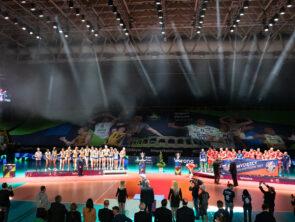 Champions League Volley con ROBE e Luminex