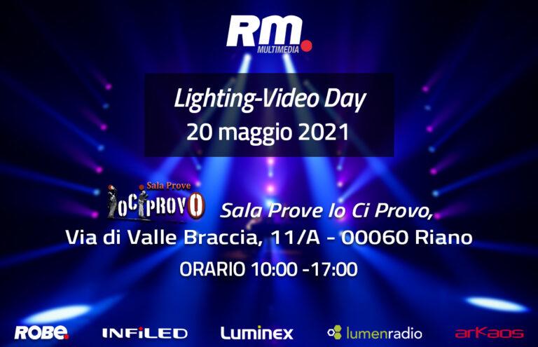 Roadshow Lighting-Video Day 2021: si parte da ROMA